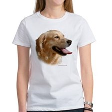 Golden Retriever (Female) Head Study Tee