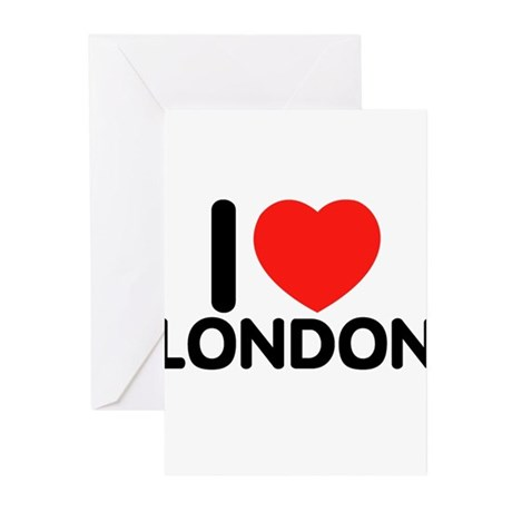 I love London Greeting Cards (Pk of 20)