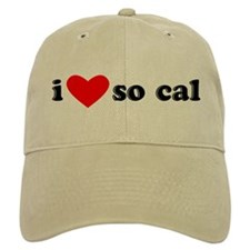 I Heart So Cal Baseball Cap