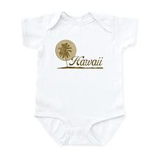 Palm Tree Hawaii Infant Bodysuit