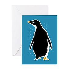 Proud Penguin Greeting Card