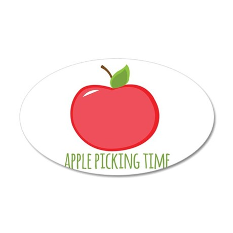 Apple Picking Time Wall Decal