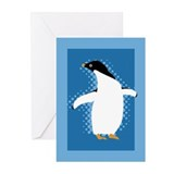 Penguin Posing Greeting Cards (Pk of 20)