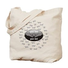 Personalized Aviation Tote Bag