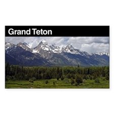 Grand Teton National Park Decal