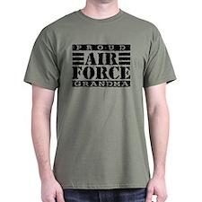 Proud Air Force Grandma T-Shirt