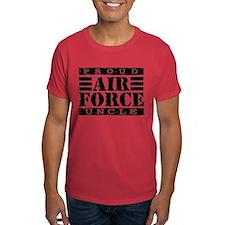 Proud Air Force Uncle T-Shirt