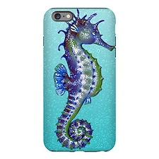 Seahorse Blue iPhone Plus 6 Tough Case