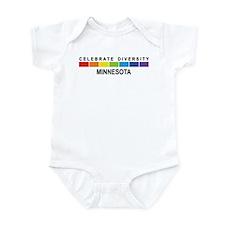 MINNESOTA - Celebrate Diversi Infant Bodysuit