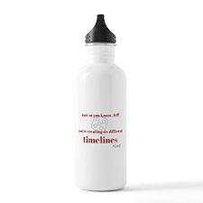 Six Timelines Water Bottle