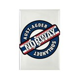 Aust-Agder Sorlandet Norway Rectangle Magnet