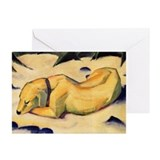 Dog in the Snow Greeting Cards (Pk of 20)