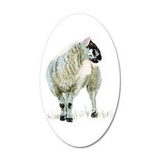 Cute Scottish Lamb Wall Sticker