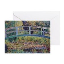 Water Lily Pond by Monet Greeting Cards (Pk of 20)