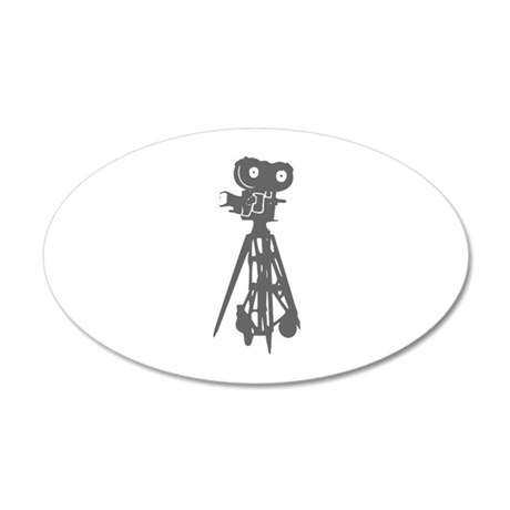 movies film 100-Sev gray Wall Decal