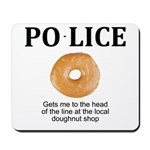 My Police thingy Mousepad