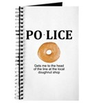 My Police thingy Journal
