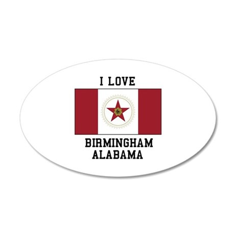 I love Birmingham Alabama Wall Decal