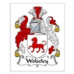 Wolseley Family Crest Small Poster