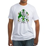 Wolley Family Crest Fitted T-Shirt