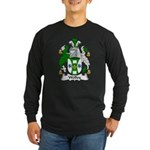 Wolley Family Crest Long Sleeve Dark T-Shirt