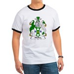 Wolley Family Crest Ringer T