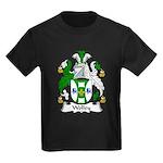 Wolley Family Crest Kids Dark T-Shirt