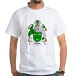 Witts Family Crest White T-Shirt
