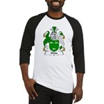 Witts Family Crest Baseball Jersey