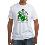 Witts Family Crest Fitted T-Shirt