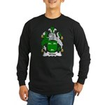 Witts Family Crest Long Sleeve Dark T-Shirt