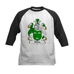Witts Family Crest Kids Baseball Jersey