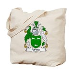 Witts Family Crest Tote Bag