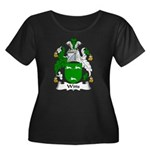 Witts Family Crest Women's Plus Size Scoop Neck Da