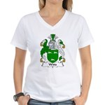 Witts Family Crest Women's V-Neck T-Shirt