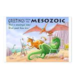 Greetings from the Mesozoic! Dinosaur Postcards