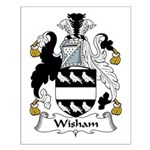 Wisham Family Crest Small Poster