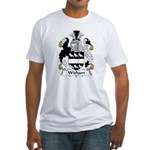 Wisham Family Crest Fitted T-Shirt