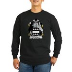 Wisham Family Crest Long Sleeve Dark T-Shirt