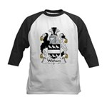 Wisham Family Crest Kids Baseball Jersey