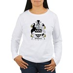 Wisham Family Crest Women's Long Sleeve T-Shirt