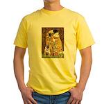 The Kiss / Pug Yellow T-Shirt