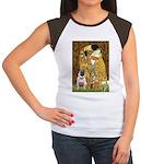 The Kiss / Pug Women's Cap Sleeve T-Shirt