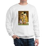 The Kiss / Pug Sweatshirt