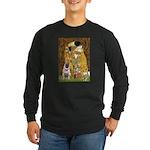 The Kiss / Pug Long Sleeve Dark T-Shirt