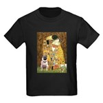 The Kiss / Pug Kids Dark T-Shirt