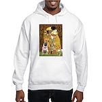 The Kiss / Pug Hooded Sweatshirt