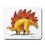 Colorful Stegosaurus Dinosaur Mousepad