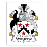 Wingrove Family Crest Small Poster