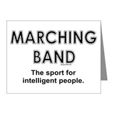 Marching Band Note Cards (Pk of 10)